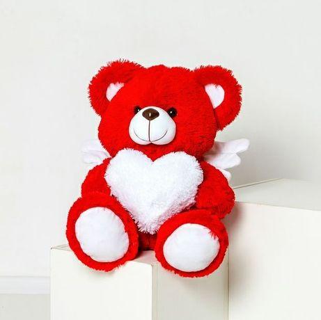 Плюшевый мишка Ангелочек с крылышками, ко дню святого Валентина, подар