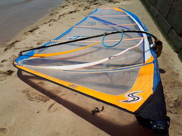Vela windsurf Simmer 7.5 com saco