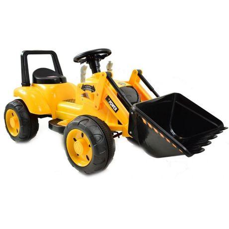 KOPARKA SPYCHACZ ŁADOWARKA traktor na akumulator, Ruchoma łyżka