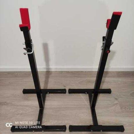 Rack para barra de halterofilismo