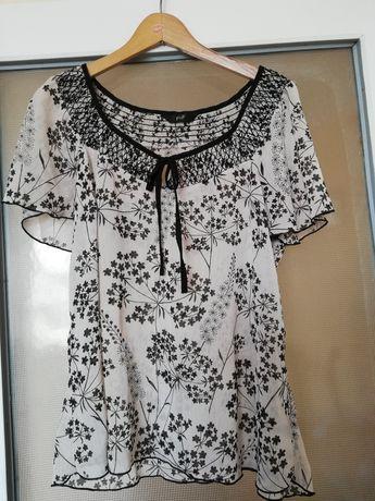 Bluzka, bluzeczka zwiewna r 42/44 F&F XL /XXL