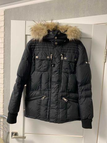 Пуховик зимняя куртка Burberry (как Zara diesel armani)