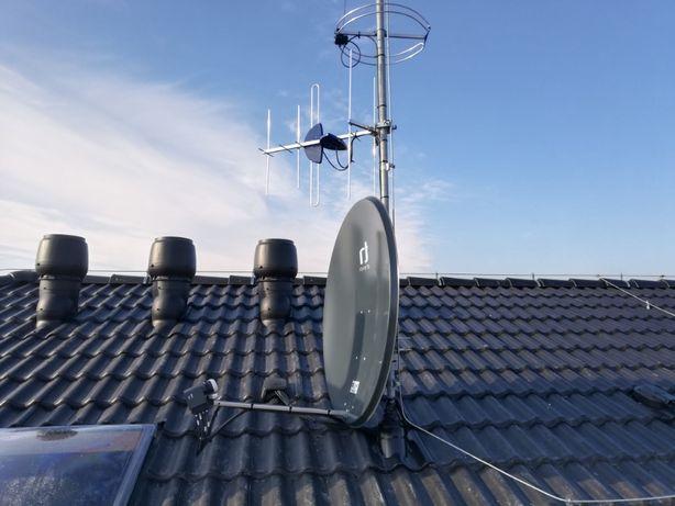 Montaż, Serwis Anten Satelitarnych i DVB-T - LTE- 4G Oborniki Śląskie