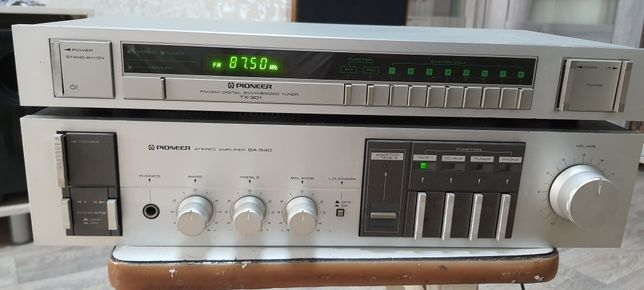 Pioneer sa-540 усилитель, тюнер TX-301