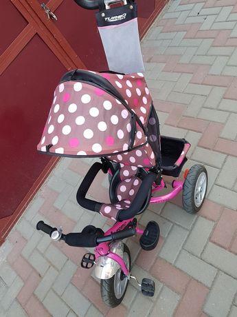 Дитячий велосипед з батьківською ручкою