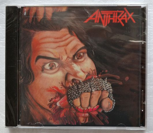 Продам CD: ANTHRAX - Fistful of Metal (1984)