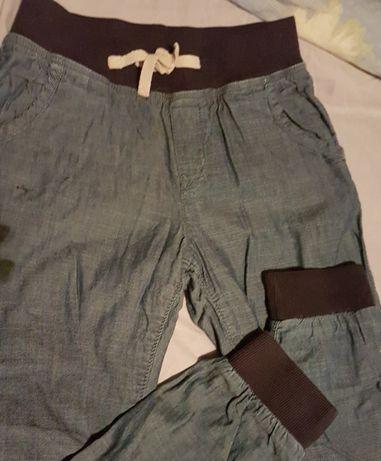 Ocieplane spodnie dla dziewczynki h&m