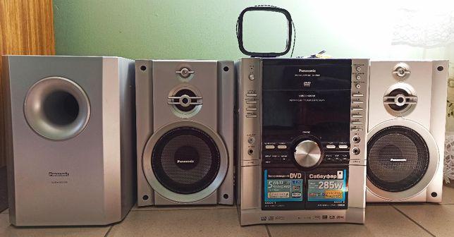 Panasonic sa-vk650 DVD stereo system, karaoke