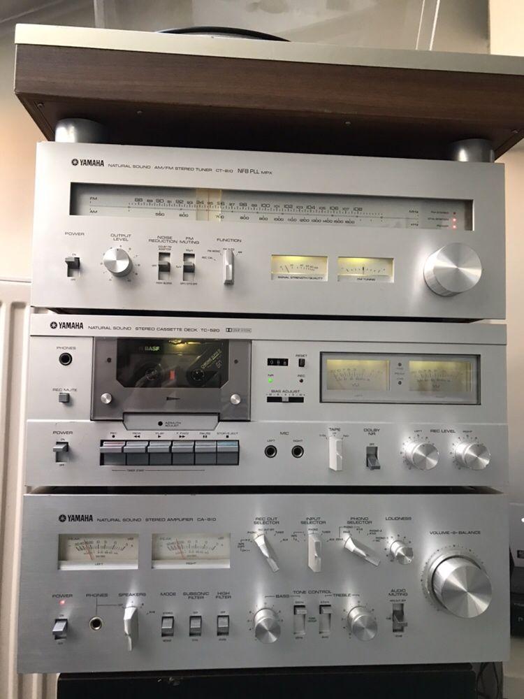 Yamaha wzmacniacz CA 810 gramofon YP- D6 wieża Rarytas Vintage