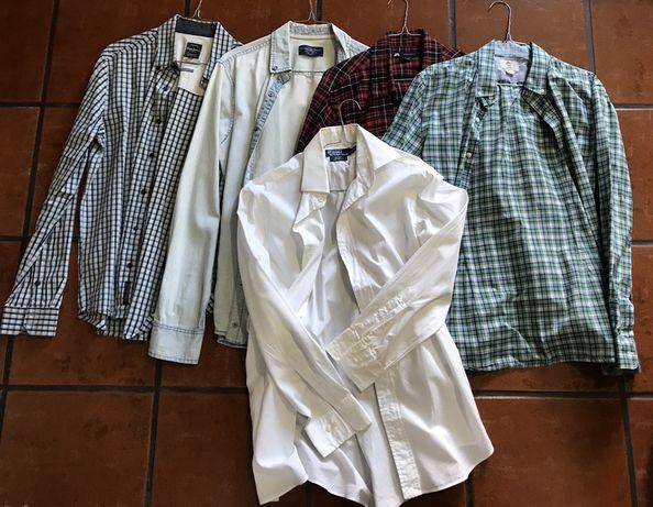 Camisas Marca Pepe/Polo/Nike/Timberland/Pull ! Usado Bom Estado
