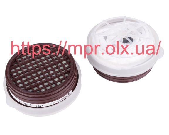 Фильтр угольный сменный А1Р1 для покраски респиратора Тополь DR-0019