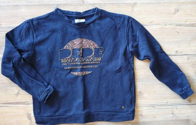 PepeJeans bluza z koralikami dla dziewczynki r. 158