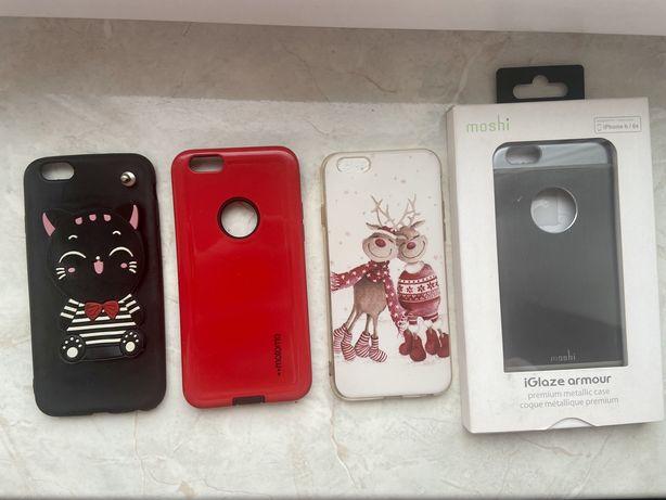 Чехлы на iPhone 6 / 6s, новогодний чехол, состояние отличное
