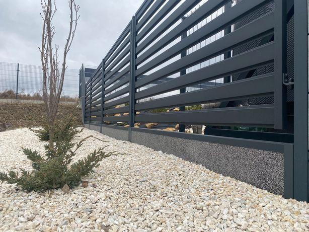 Ogrodzenia nowoczesne, wiata, bramy, furtki
