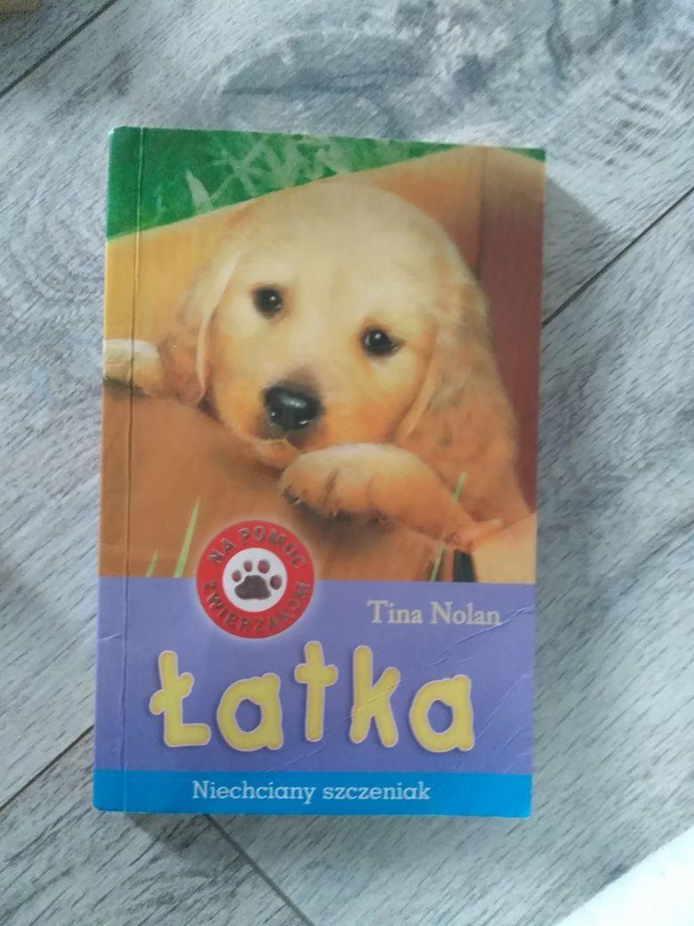 Książka Łatka - niechciany szczeniak