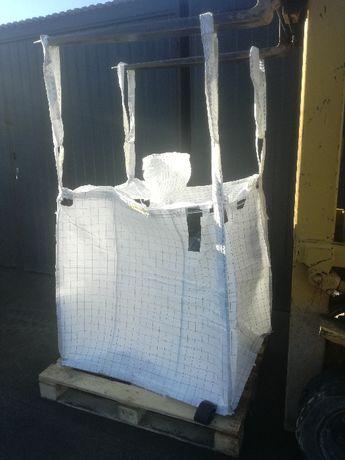 Worki Big Bag Używane na 750kg // 120cm//czyste//hurt//dwu-lejowe