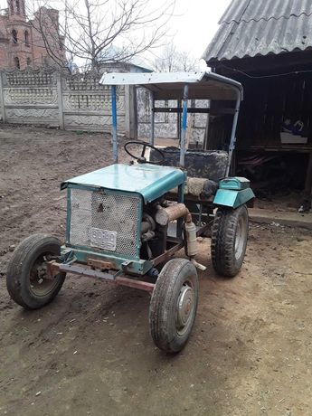 Трактор саморобний