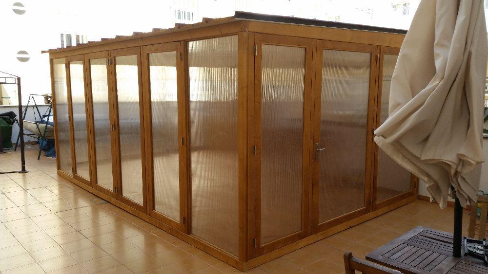 anexo em madeira Madeira&Conforto