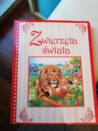 Książka o zwierzętach świata