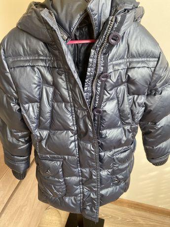 Продам детскую зимнюю куртку пальто original marines