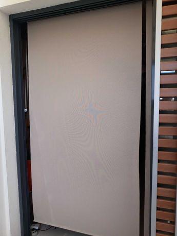 Cortina de rolo para porta em poliester 250cm x 120cm