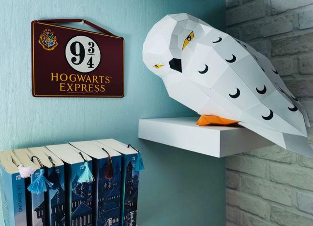 Papercraft Hedwig Harry Potter