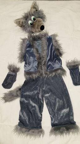 Волк (Вовк) карнавальный костюм Волка на мальчика 4 - 7 лет