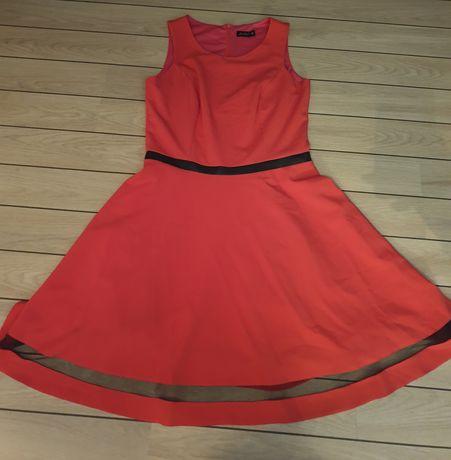 LARA FABIO różowa sukienka roz. 38