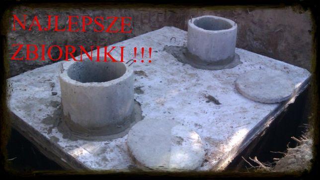 szambo 13m3 szamba betonowe zbiornik na deszczówkę piwnica betonowa
