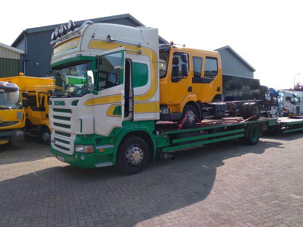 Scania R 380 top line rama pod zabudowe laweta
