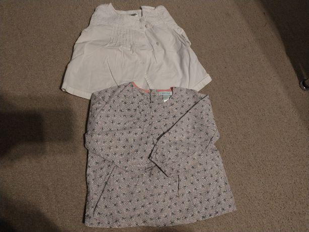 bluzka koszula zara okaidi 80 elegancka