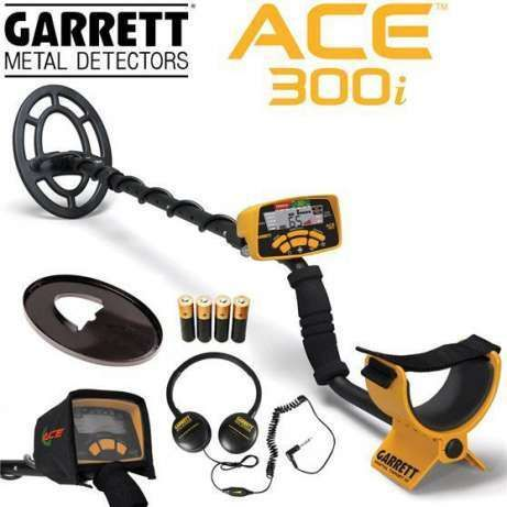 Металлоискатель Garrett ACE 300i ОРИГИНАЛ + подарки