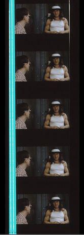 Fotogramas em película 35mm do filme culto TAXI DRIVER
