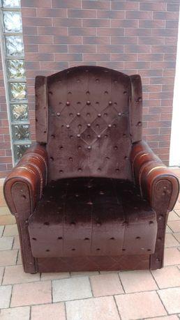 Fotel wypoczynkowy do renowacji