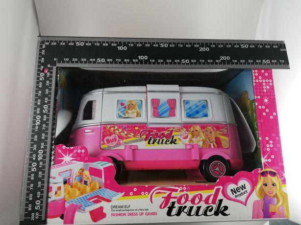 Autobus dla lalek lalki dla dziewczynek zabawka