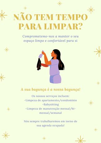 Limpezas / Housekeeping