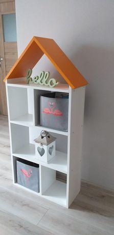 Piekny regal domek dla dziecka na prezent