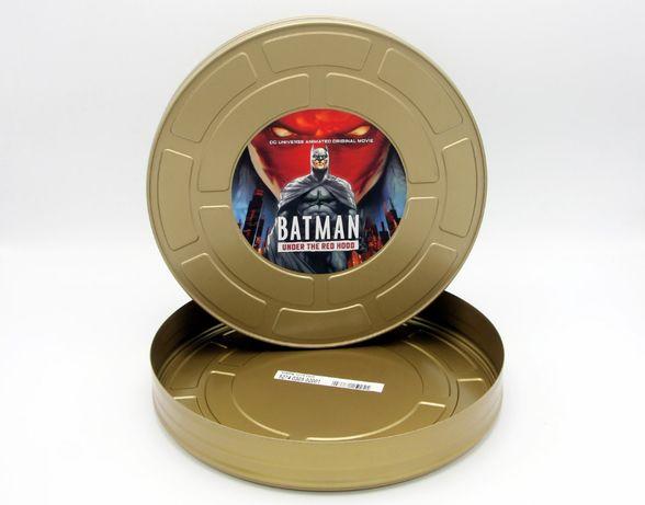 BATMAN Lata Metálica de Cinema com 28cm diâmetro e 4cm espessura