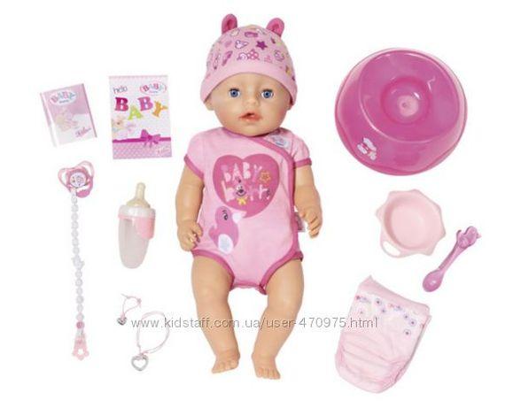 Кукла baby born нежные объятия-очаровательная малышка 43 см, 824368