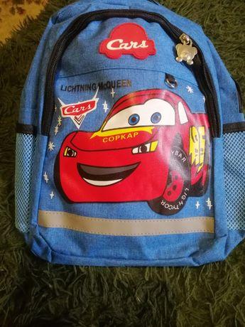 Рюкзачек тачки для мальчика