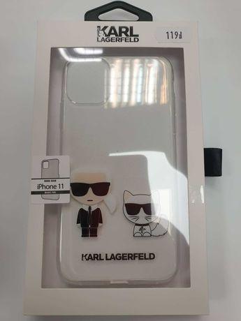 Etui KARL LAGERFELD iPhone 11 KLHCN61CKTR Karl&Choupette Hard Case