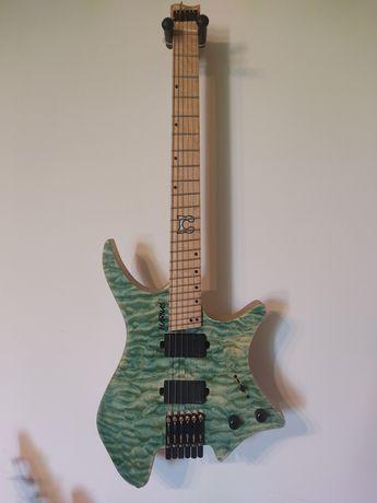 headless gitara ergonomiczna prawdziwe emg