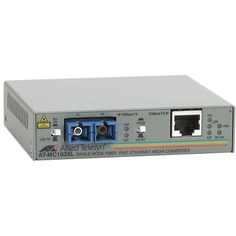 Медиаконвертер Allied Telesis AT-MC103XL + подарок