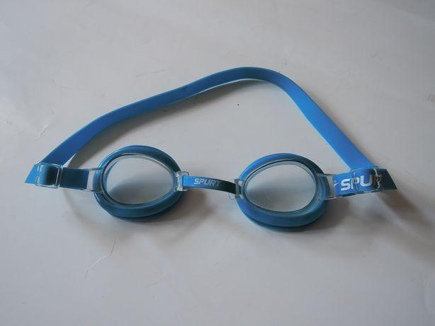 Okulary do pływania pływackie niebieskie