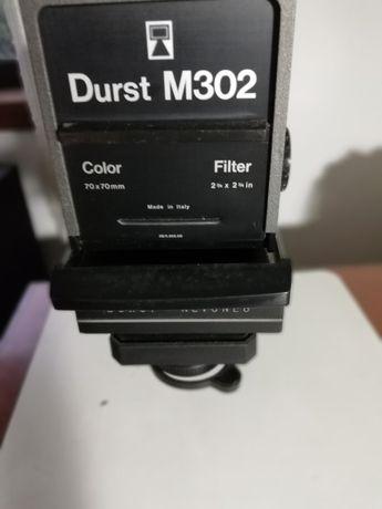 Ampliador Durst M302 com cabeça de cores
