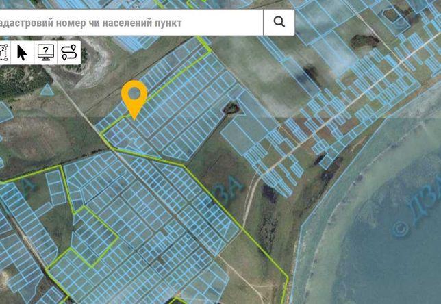 Земельна ділянка на березі озера Світязь