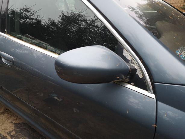 Peugeot 607 prawe lusterko