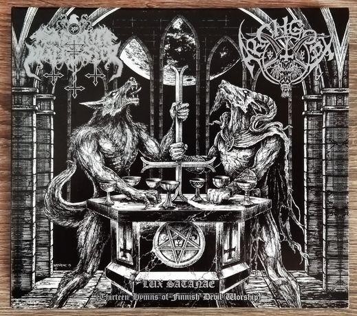 Satanic Warmaster / Archgoat – Lux Satanae (Thirteen Hymns of Fin...