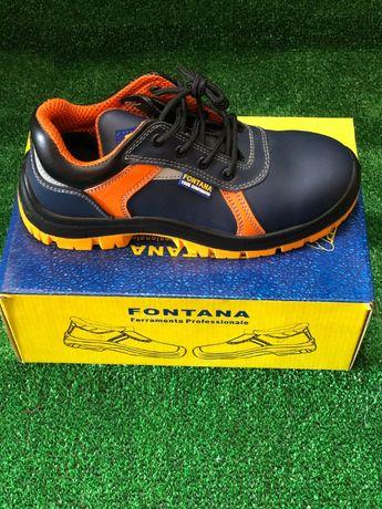 Sapatos Biqueira de Aço Fontana