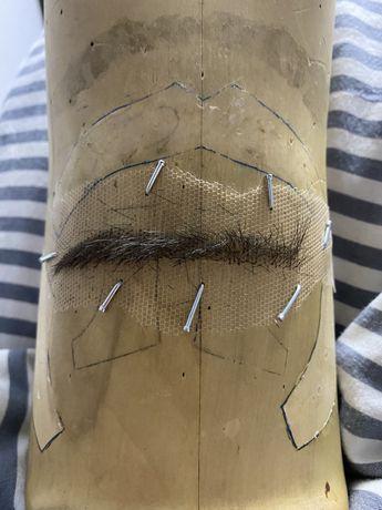Изделия из волос на заказ! Пастиж/усы/борода/баки